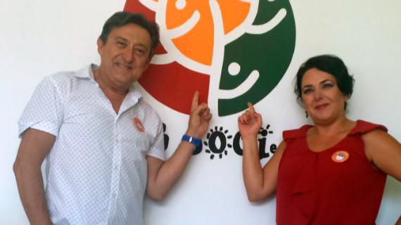 Los actores Mariano Peña y Carmen Frigolet, 'Embajadores de la salud mental' de Feafes-Huelva
