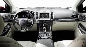 El interior del Ford Egde, muy amplio, consta de una gran variedad de detalles