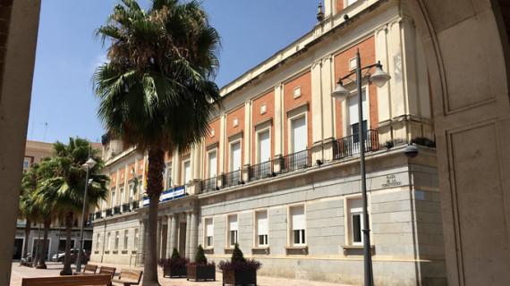 VI. Ayuntamiento, Casa-cuartel de la Guardia Civil, Escuela Normal, Palacio o Casa del Gobernador