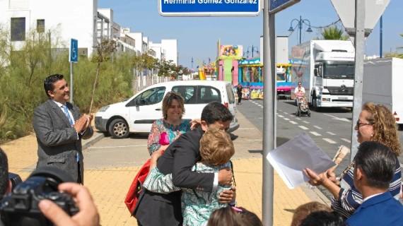 Ayamonte dedica una calle a Herminia Gómez