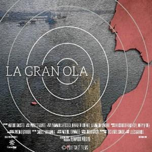 Cartel de 'La gran ola', el nuevo documental del realizador onubense Fernando Arroyo.