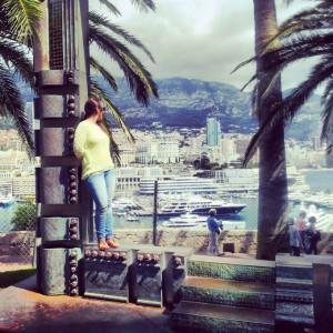 La onubense, de visita en Mónaco.