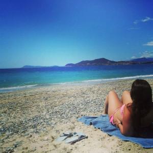 Disfrutando de la Costa Azul francesa.