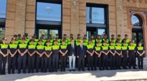 Los nuevos policías locales de Andalucía.