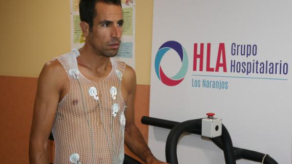 Emilio Martín, bicampeón del mundo de duatlón, supera el reconocimiento médico