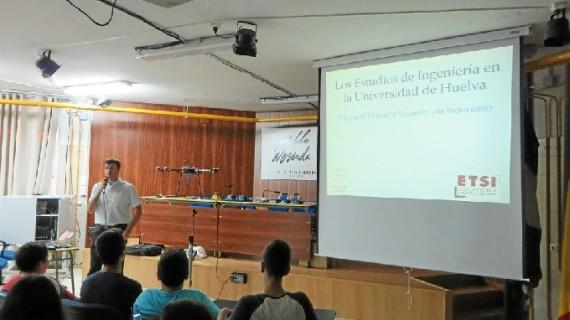 La Escuela Técnica Superior de Ingeniería de Huelva promueve vocaciones técnicas entre estudiantes de Secundaria