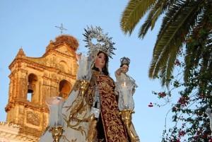 La Virgen del Carmen es la patrona de Trigueros.
