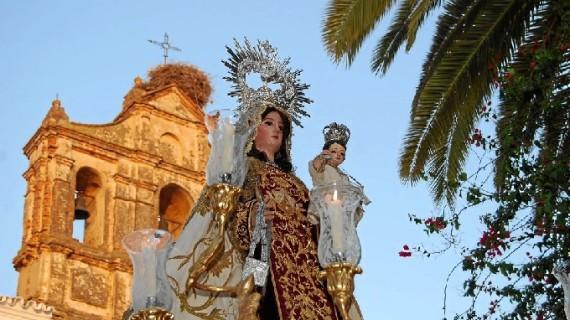 Trigueros celebra sus Fiestas patronales de la Virgen del Carmen del 15 al 17 de julio