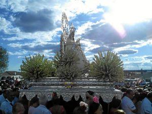 La romería se celebra los días 14, 15 y 16 de agosto./ Foto: Iván de la Rosa Domínguez.