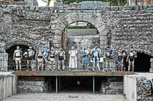 Aroche contará este año con un espectáculo de la escuela de gladiadores de Mérida. / Foto: Emeritae Lvdvs Gladiatorvm.