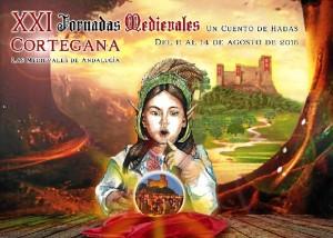 Cartel de las XXI Jornadas Medievales de Cortegana.