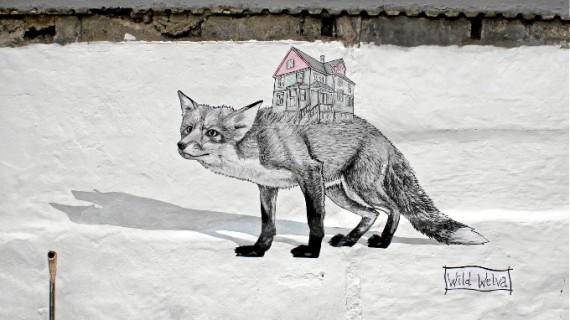 El arte urbano del onubense Wild Welva desembarca en Islandia