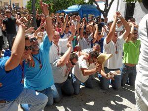La procesión del día 24 de agosto es vivida por los beasinos con una gran emoción.