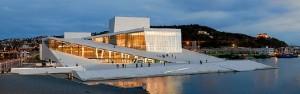 Una imagen de la ópera de Oslo, donde Jose Luis Sosa ha actuado. / Foto: wikimedia.org.