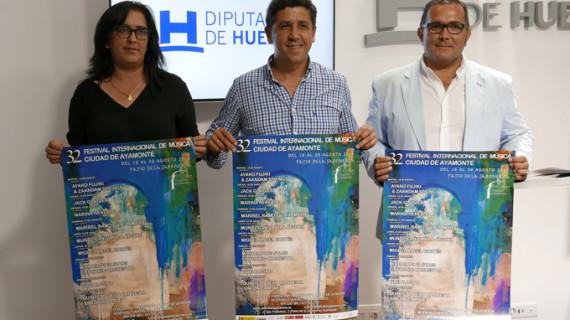 Nueve conciertos conforman la programación del 32 Festival Internacional de Música Ciudad de Ayamonte