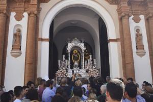 La Virgen de la cinta se encuentra actualmente en la parroquia de la Concepción.
