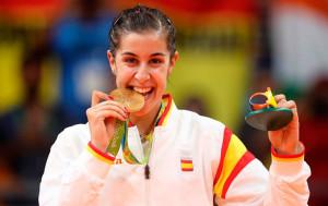 Huelva prepara un gran recibimiento a Carolina Marín tras ganar el oro en Río.