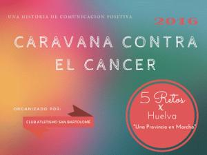 Cartel '5 Retos x Huelva'.
