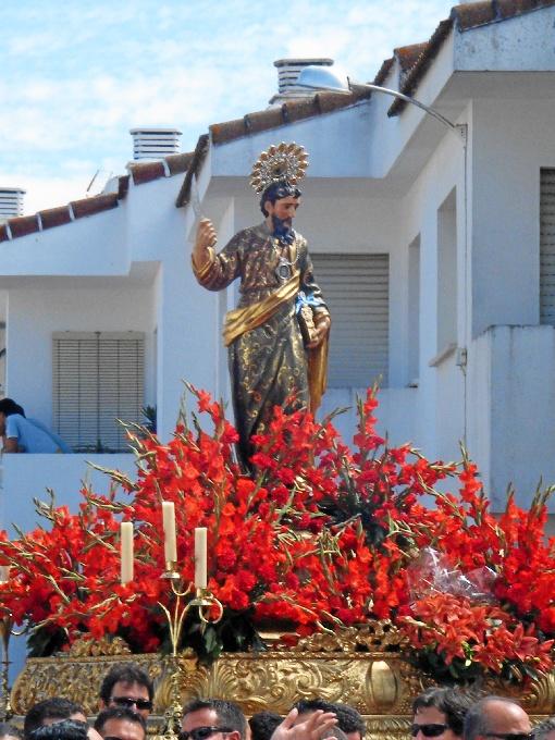 Cultos en honor a San Bartolomé en Beas, una tradición que hunde sus raíces en el siglo XIII