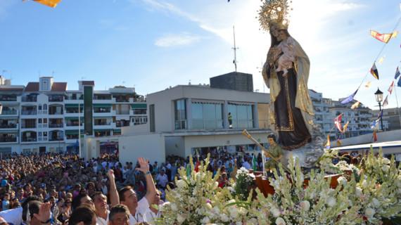La Virgen del Carmen surcará las aguas de la Ría de Punta Umbría este lunes 15 de agosto