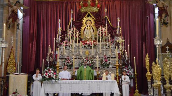 Comienza en Moguer la novena en honor a la Virgen de Montemayor