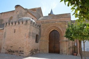 Puerta de los Novios de la Iglesia de San Jorge.