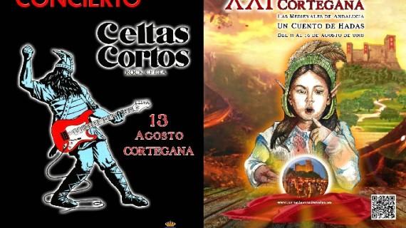 Cortegana disfrutará este sábado de la música de Celtas Cortos y la fuerza de los torneos medievales