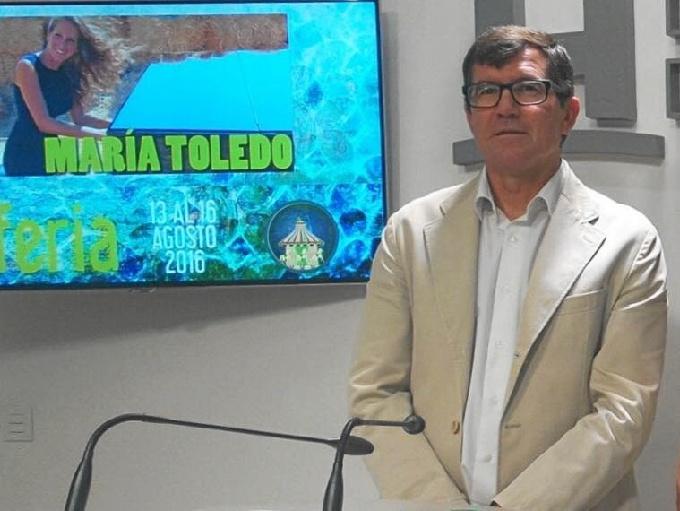 Antonio Beltrán, alcalde de Puebla de Guzmán.