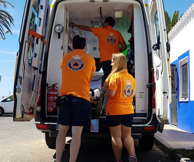El voluntariado de Protección Civil atiende en Huelva a una población de más de 400.000 personas