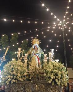 La procesión se celebrará el 14 de agosto.