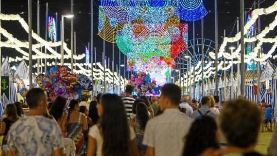 El Recinto Colombino, listo para la inauguración de las Fiestas Colombinas