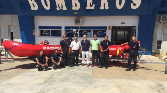 El Consorcio de Bomberos adquiere dos nuevas embarcaciones para los parques de Aracena y San Juan