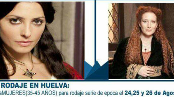 Casting en Huelva para participar en una serie de televisión de época