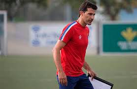El Recre B está dirigido esta temporada por Juanma Rodríguez. / Foto: www.albiazules.es.