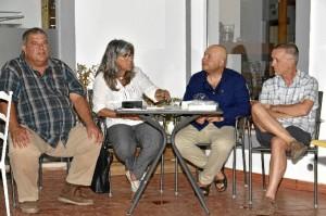 Sao Concepción, teniente de alcalde la cámara municipal de  VRSA se sumó al acto.