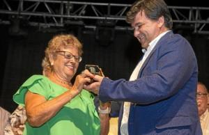 María Walls, de 80 años, ha sido nombrada abuela de Las Colombinas.