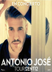 Antonio José cantará en la Feria de Agosto