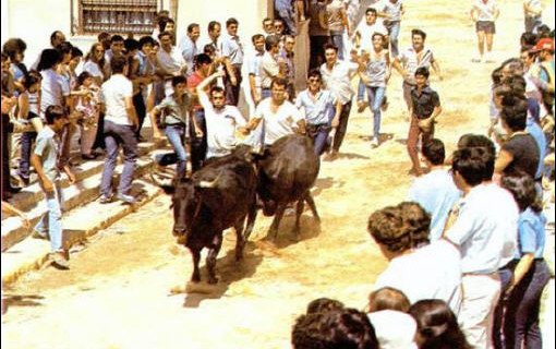 Arrancan las Capeas de Trigueros, unos festejos que se iniciaron a comienzos del siglo XIX