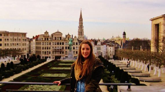 Cristina Prieto, una enfermera que trabaja en quirófano de cirugía oncológica y de trasplantes en un hospital de Bélgica