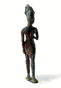 Deidad fenicia conservada en el Museo de Huelva.
