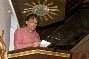 El profesor universitario Pedro Ojeda.
