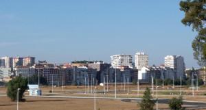 Ensanche Sur de Huelva capital.