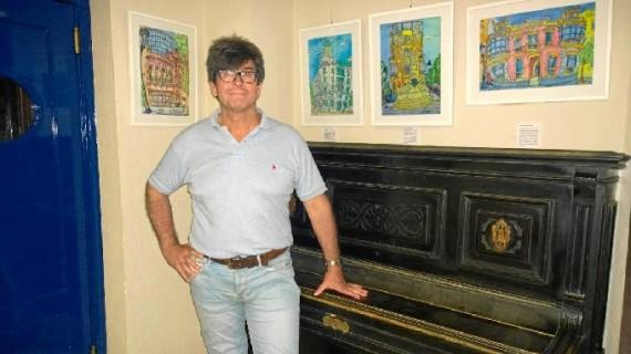 La muestra 'Mi Huelva', de Andrés Espuelas, recala en Punta Umbría