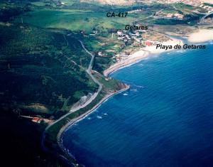 La pesca de ballenas en Algeciras fue modelo para otros puntos del litoral. / En la imagen, costa de Getares. Foto: eltiempo.es