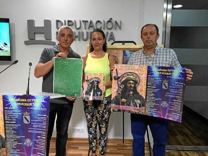 Romera Mayor y Damas de la Romería de Clarines 2016.