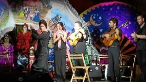 Artistas locales protagonizaron una sentida actuación.