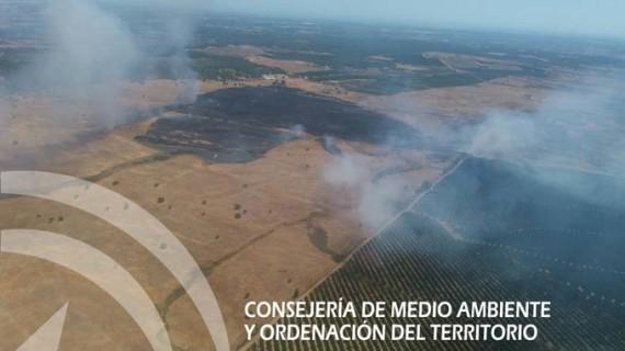 Extinguido el incendio forestal declarado en Villablanca