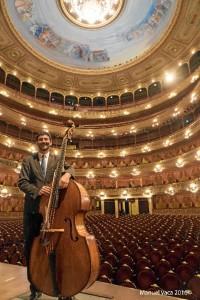 El onubense ha tocado en escenarios de todo el mundo. /Foto: Manuel Vaca.