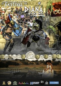 Cartel de la III Feria de Diana de Aroche.