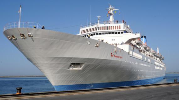 El buque Thomson Spirit recala por quinta vez este año en el Puerto de Huelva